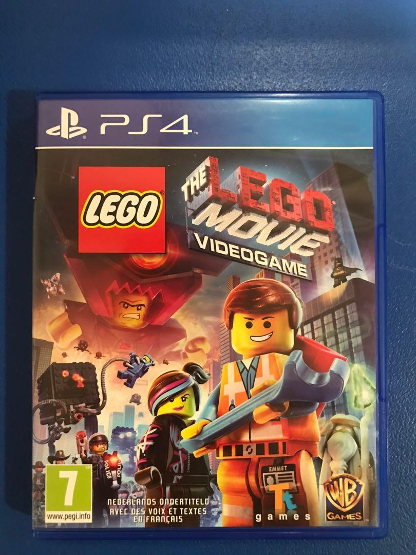 PS4 Game: The Lego Movie Videogame