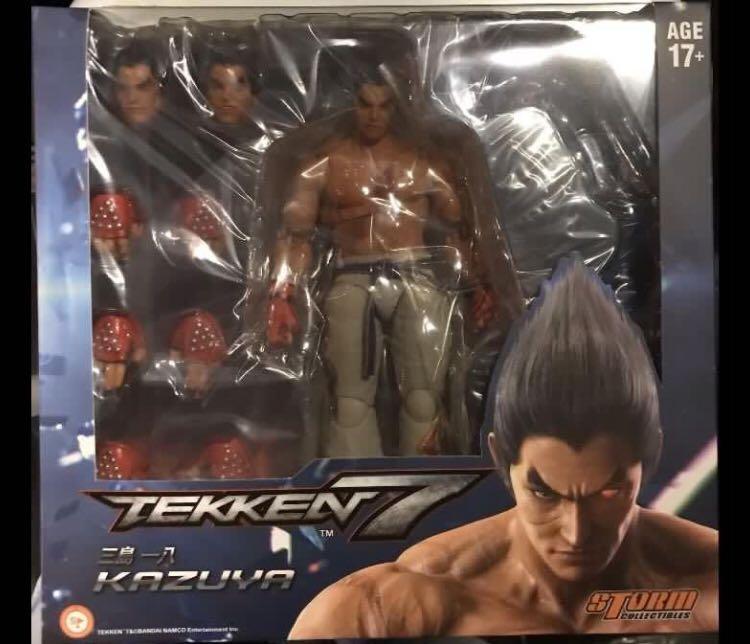 Storm Collectibles 1 12 Tekken 7 Kazuya Action Figure Rare Toys Games Action Figures Collectibles On Carousell