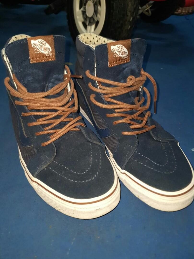 Vans 鞋blue shoes, 男裝, 男裝鞋- Carousell