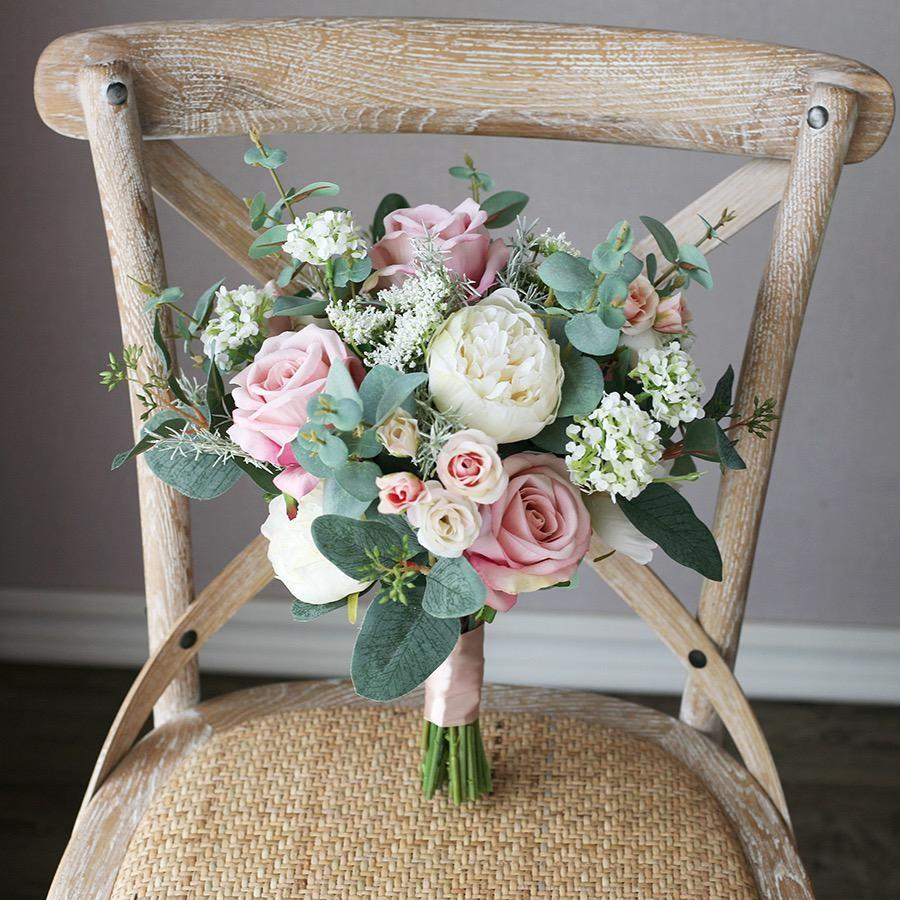 Yourstalkmarket Premium Artificial Bridal Flower Bouquet Singapore Sg Gardening Flowers Bouquets On Carousell