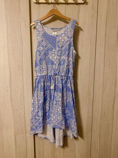 100% Target Blue Summer Dress