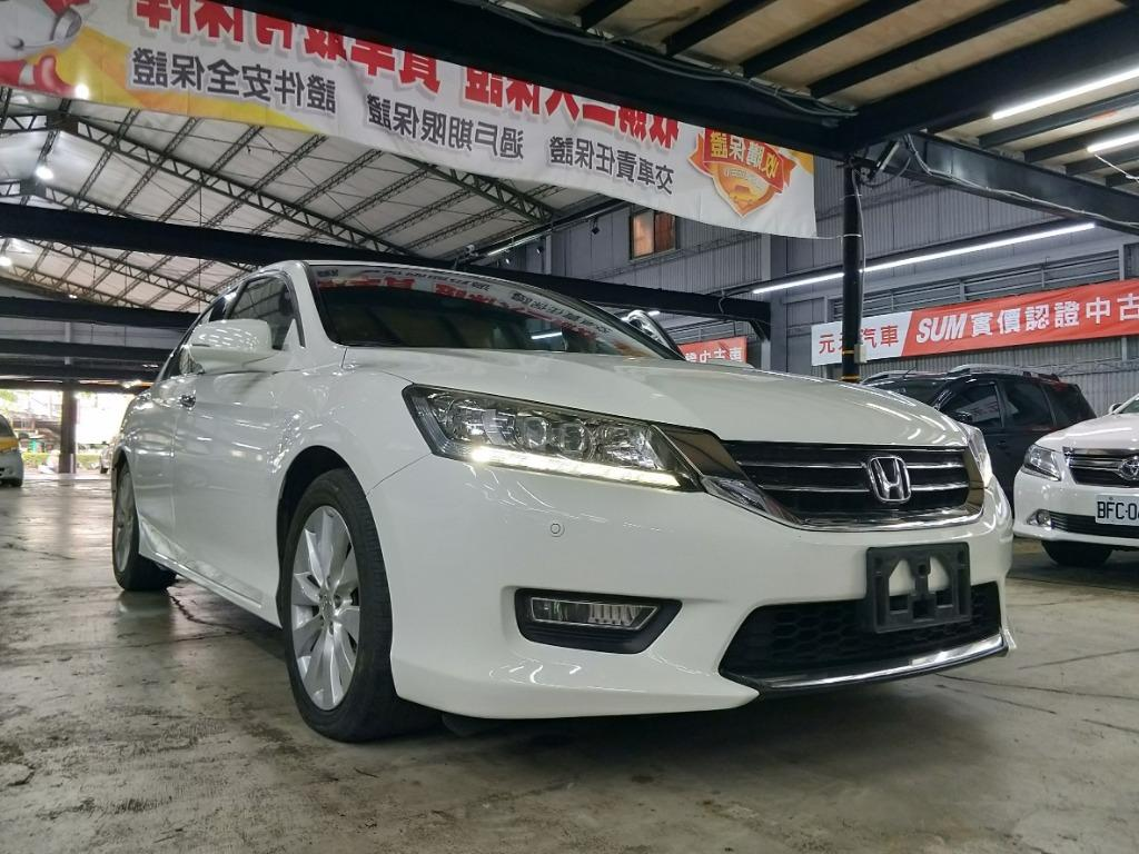 2013年 HONDA Accord 2.4 VTi-S Exclusive 售價39.8萬