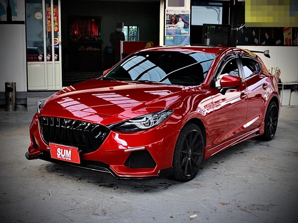 2016年 Mazda 3 魂動紅 2.0 頂級滿配