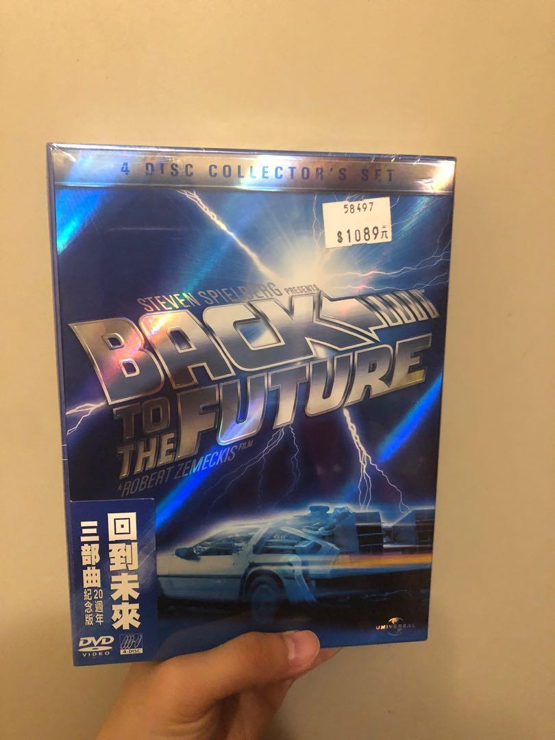 ❗️全新未拆❗️回到未來三部曲 20週年紀念版 四碟紀念版 DVD