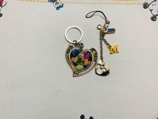 香港迪士尼鑰匙圈 米妮米妮