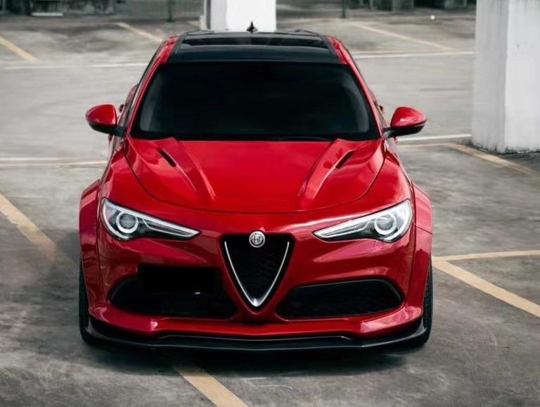 Alfa Romeo Stelvio S-Style Half Carbon Fiber Wide Body Kit