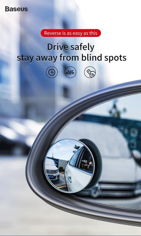 Rearview Mirror 360 Degree Wide Angle, Are Mirrors Waterproof