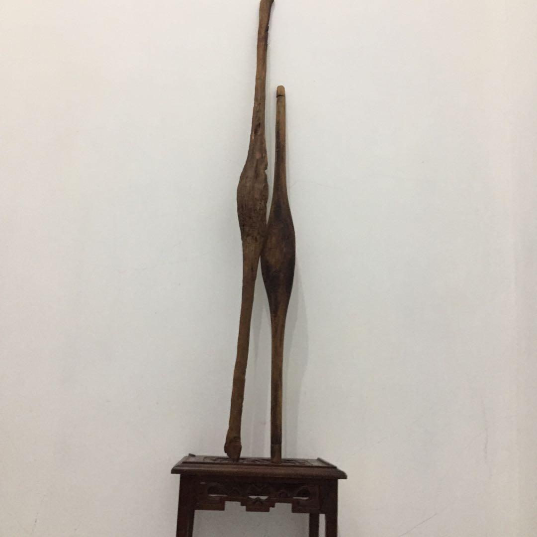 Batten alat tenun gedogan kayu jati