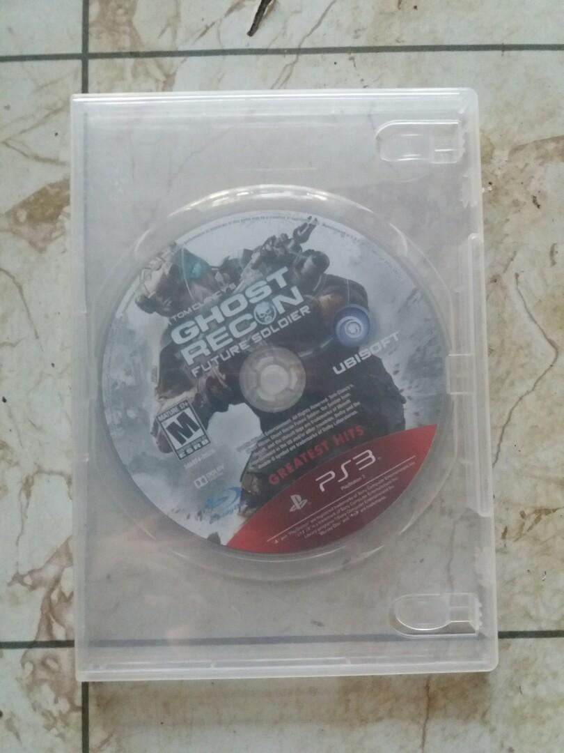 BD Kaset PS3 Ghost Recon Future Soldier R1