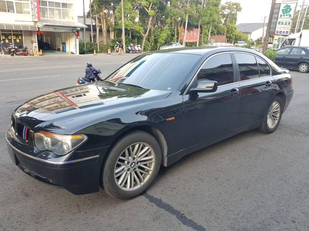 BMW            735LI    2002年         3500cc
