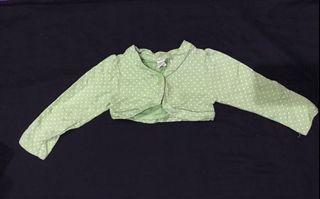 Cardigan Baby | Lights Cardigan Green by Baby Gap