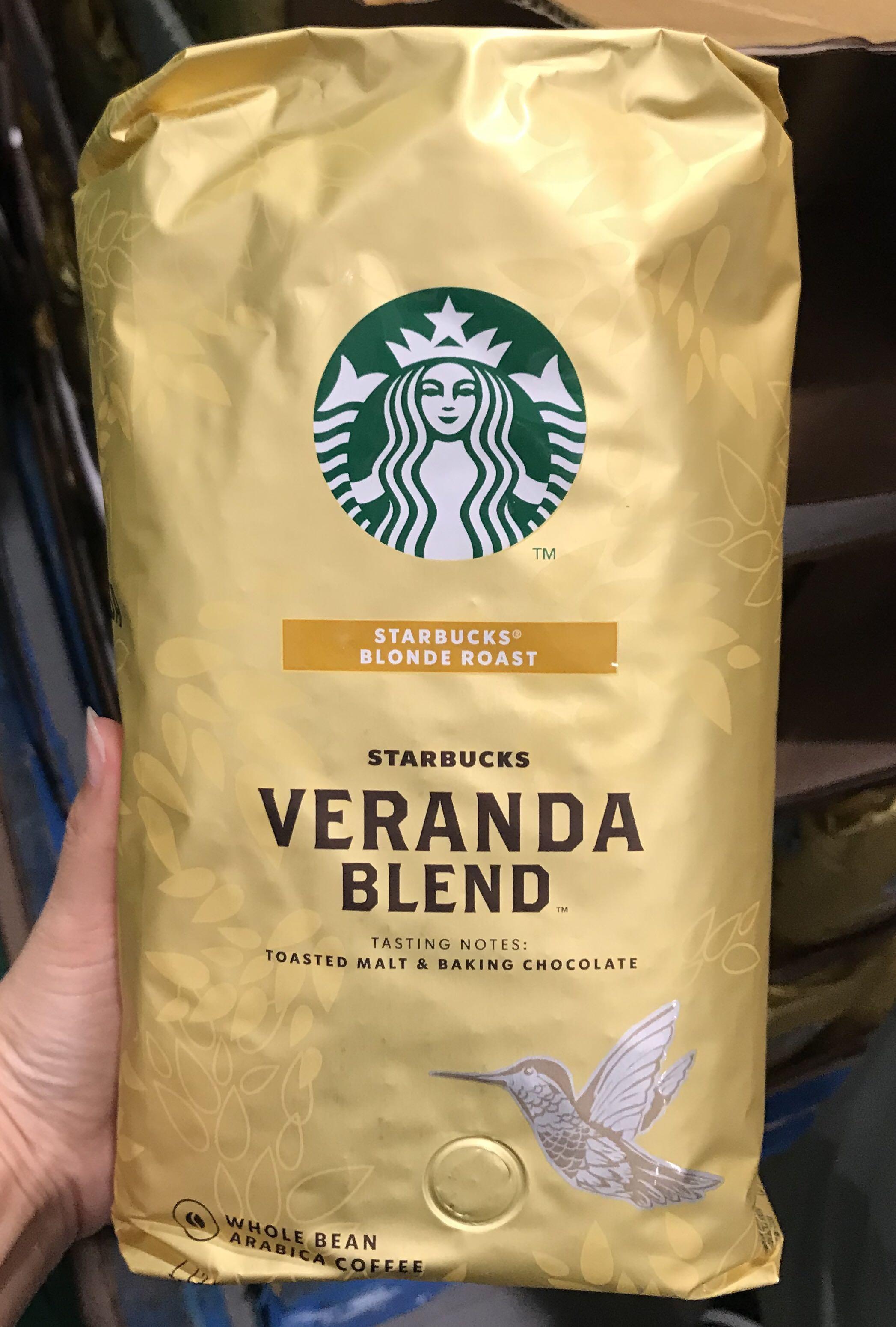 🚚宅配免運🚚 Costco好市多☕️Starbucks星巴克 黃金烘焙綜合咖啡豆 1.13kg  verandablend