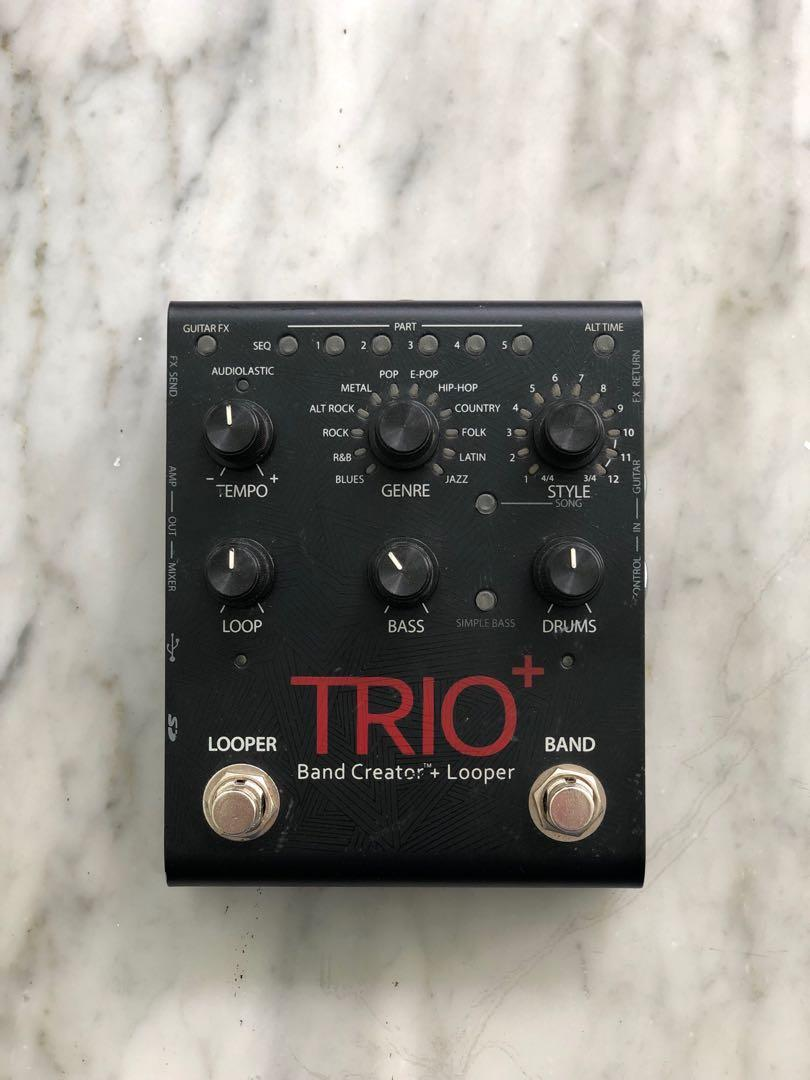 DigiTech Trio+ Band Creator and Looper Pedal
