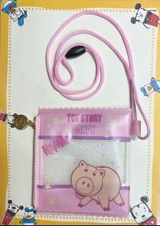 Grace gift玩具總動員 透明豬豬小包