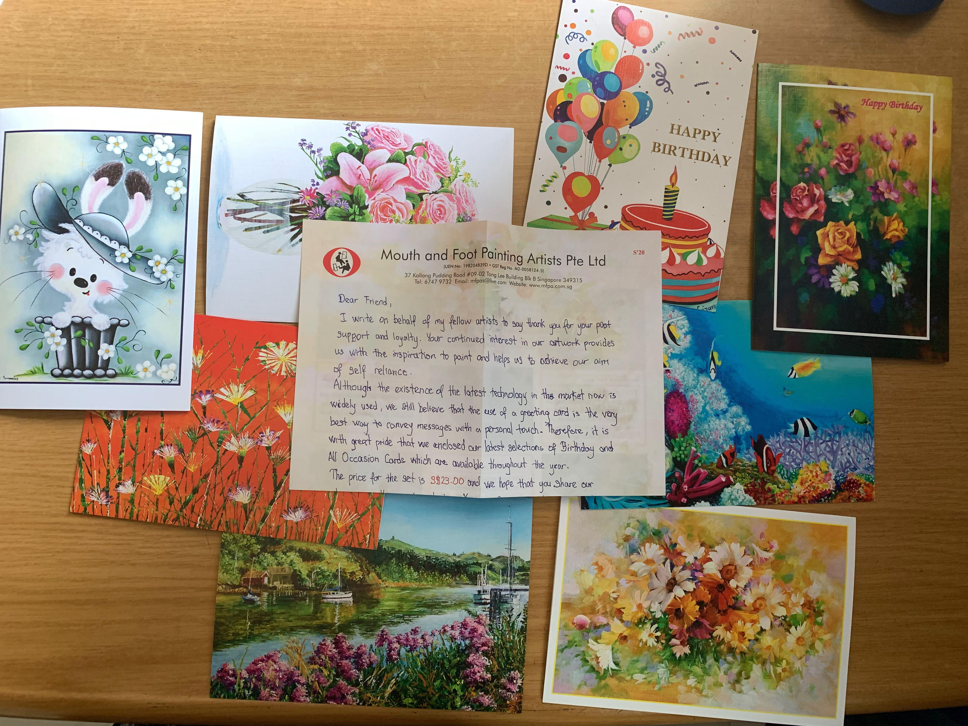 Greeting Cards For Giveaway Design Craft Art Prints On Carousell