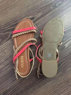Guess slippers size 5