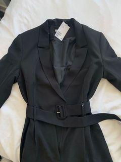 H&M NWT blazer jumpsuit size 6