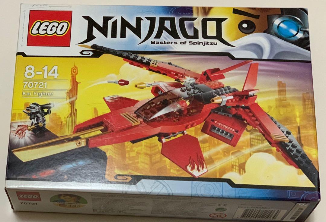 Lego Ninjago Kai Fighter Toys Games Bricks Figurines On Carousell