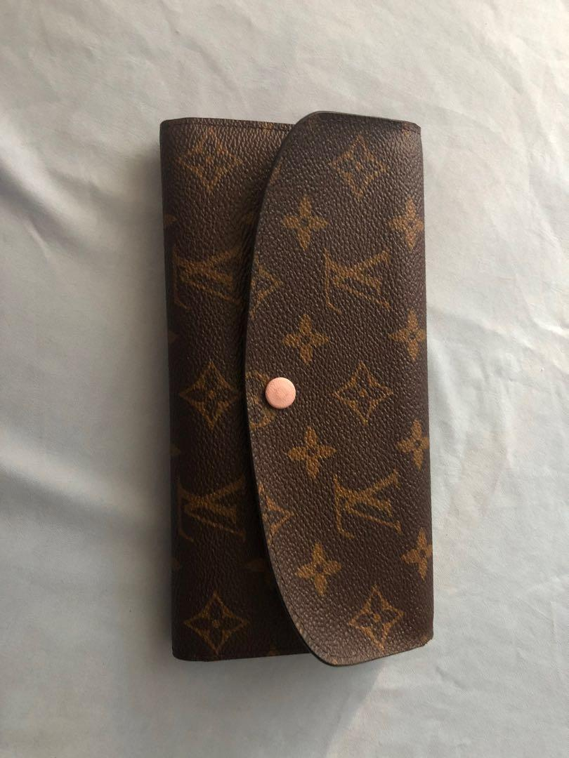 "Louis Vuitton ""Emilee"" Wallet"