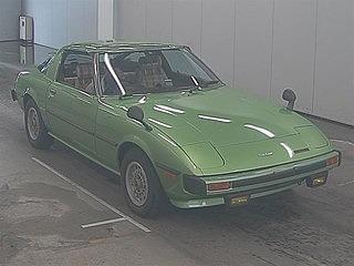 Mazda RX-7 . Manual