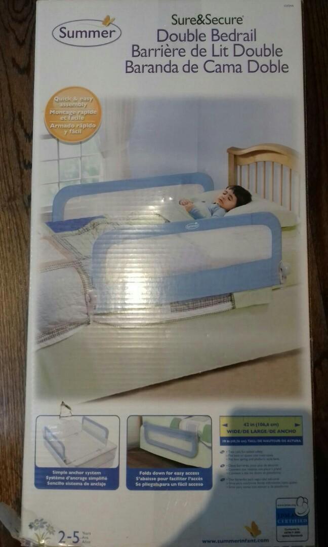 NIB Double Bed Rail