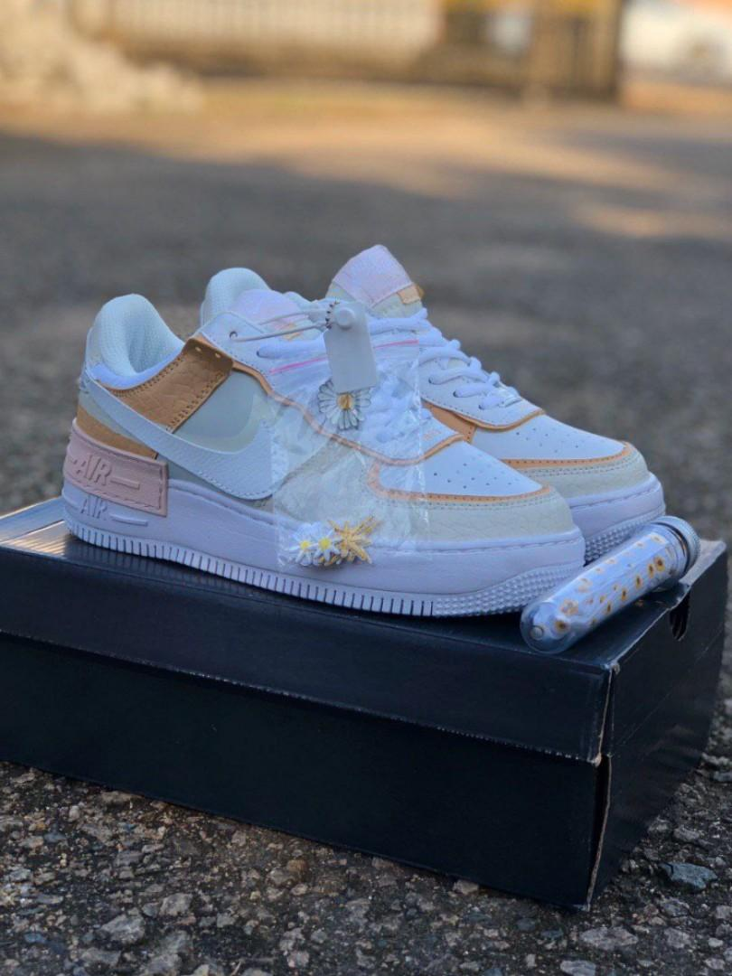 Nike Airforce 1 Shadow Spruce Aura Daisy Women S Fashion Shoes On Carousell