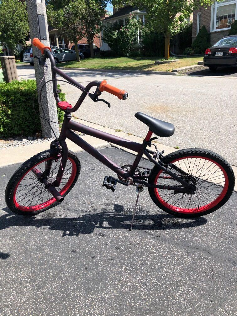 Red BMX (good condition)