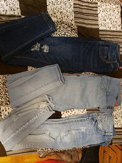 Size 3 push up jeans