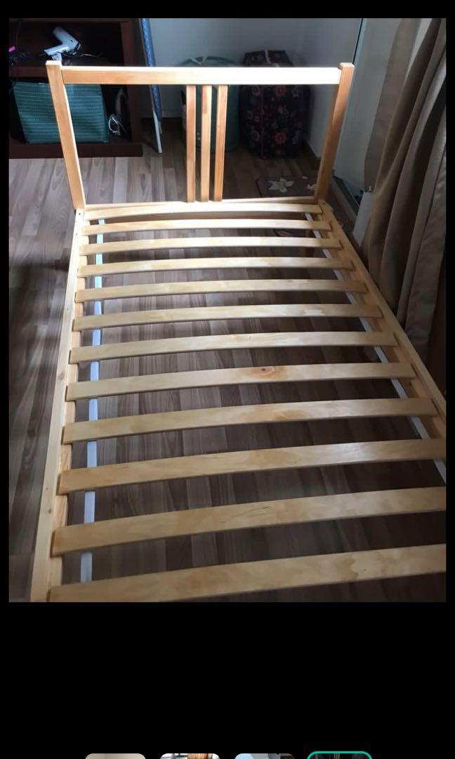 Used Ikea Bed Frame Furniture Beds Mattresses On Carousell