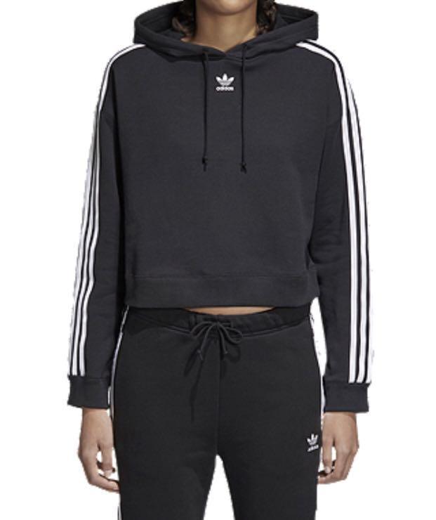 Adidas crop sweater XS