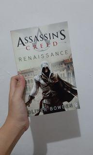 Assassins Creed Renaisance Novel Oliver Bowden