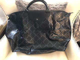 Authentic long champ XL travel bag size 12x24