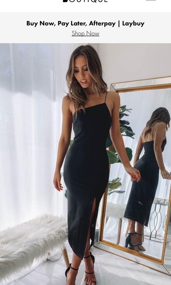Beginning boutique dress, worn once, size 12