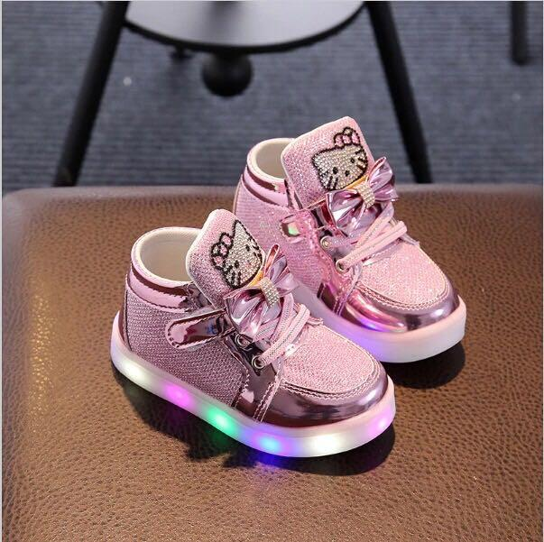baby shoes with lights
