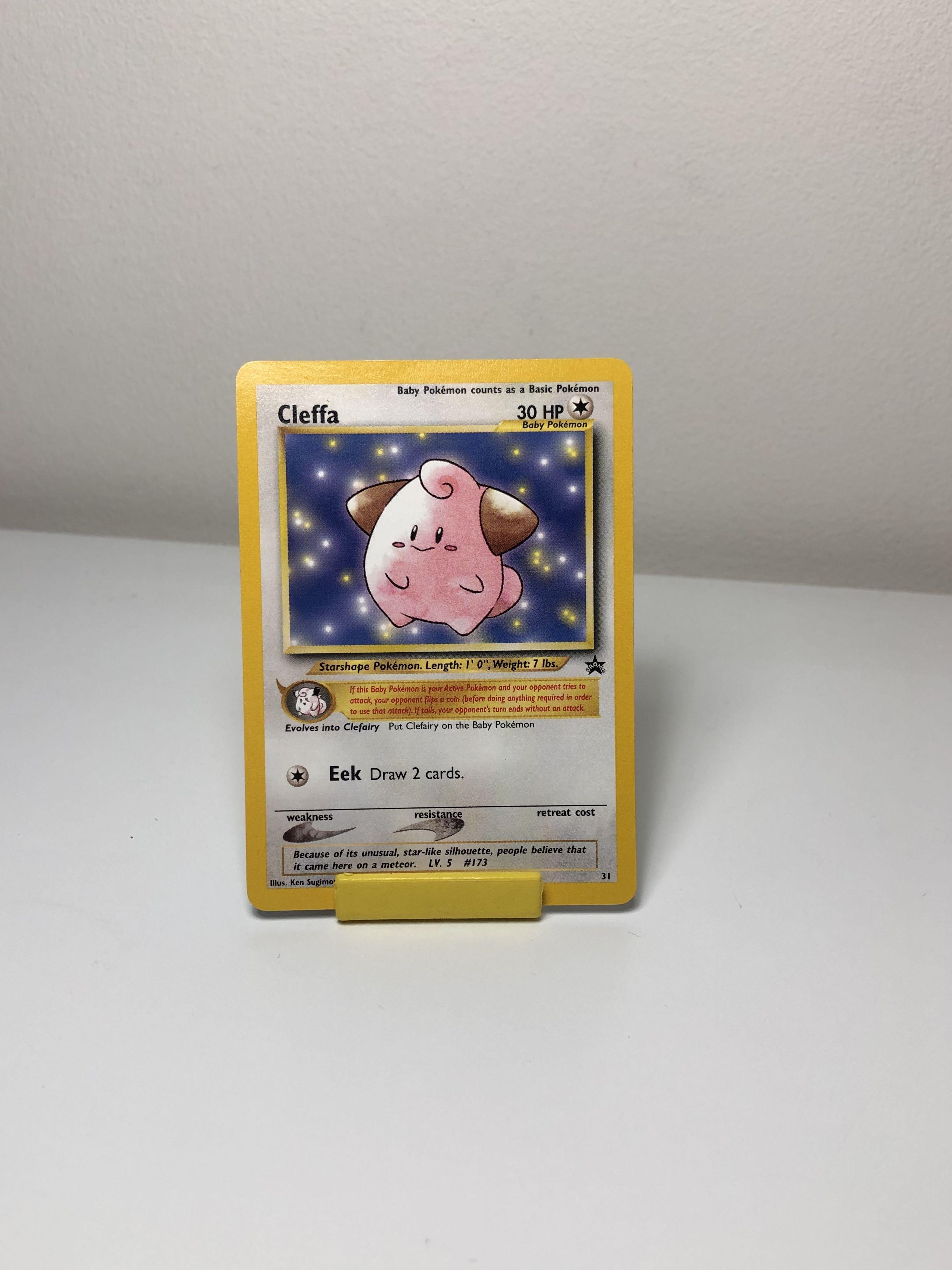 Togepi # 30 Black Star Promo WOTC Set NEAR MINT Pokemon Card