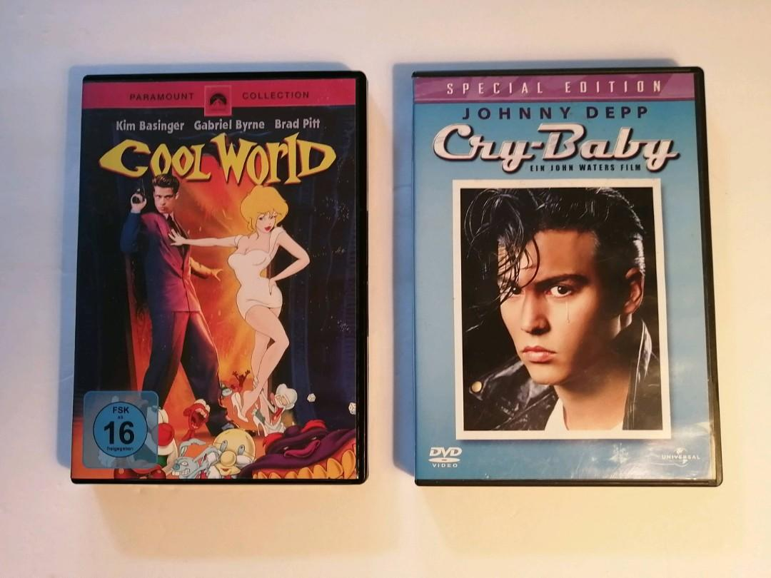 Cool World/Cry Baby DVDs (Region 2)