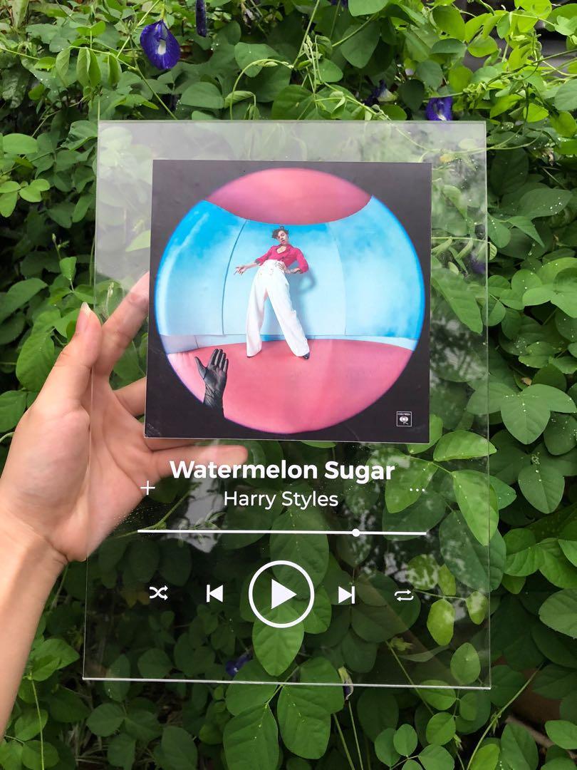 CUSTOM Acrylic Spotify Song Playlist
