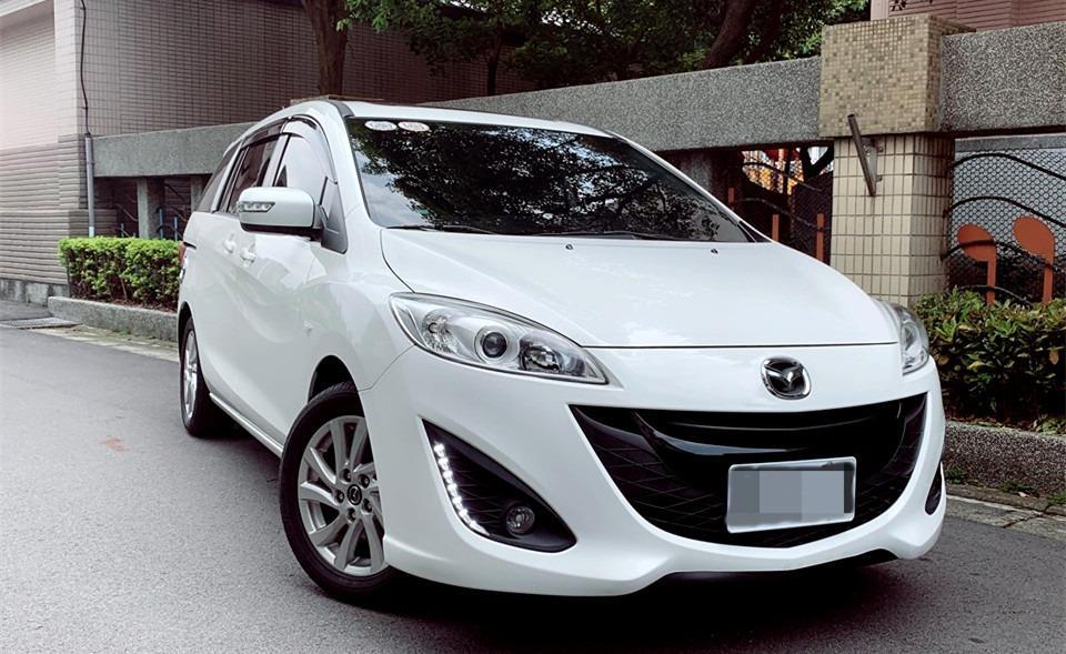 FB搜尋【世康中古車買賣】《熱門車款》2014年馬自達mazda5 白2.0