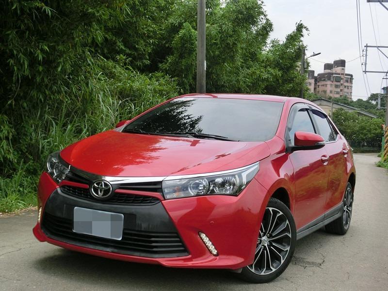 FB搜尋【世康中古車買賣】《熱門車款》2015年豐田ALTIS X版1.8紅