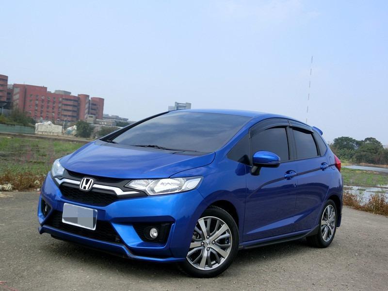 FB搜尋【世康中古車買賣】《熱門車款》2015本田FIT.s版 藍1.5