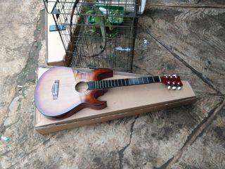 Gitar akustik tanduk