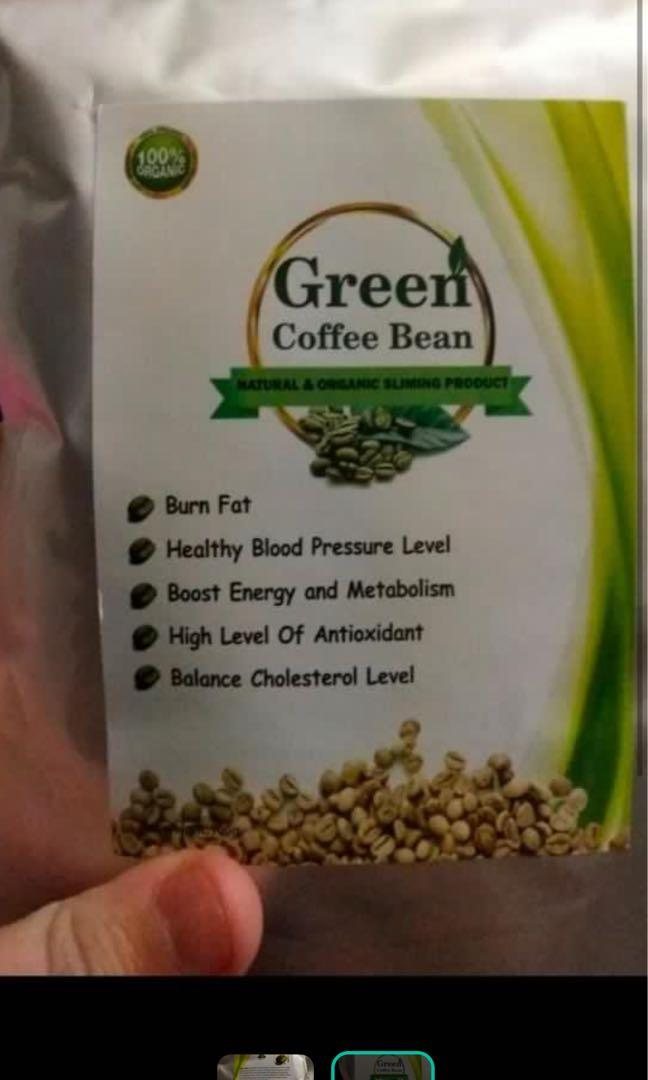 Green Coffee Bean Slimming Health Beauty Face Skin Care