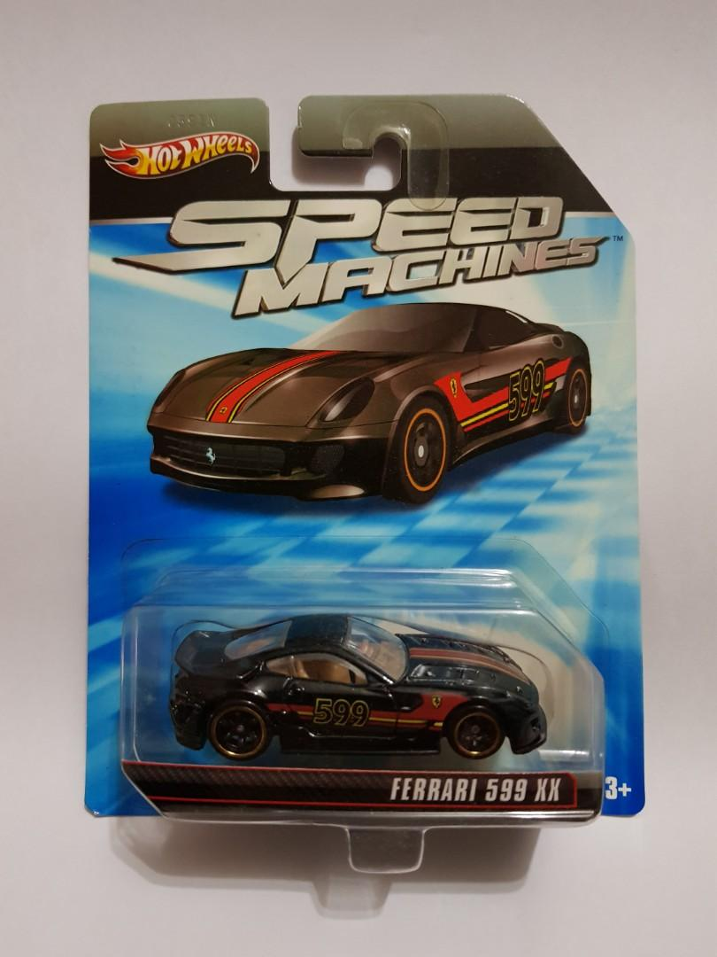 Hot Wheels Speed Machine Ferrari 599xx Toys Games Diecast Toy Vehicles On Carousell