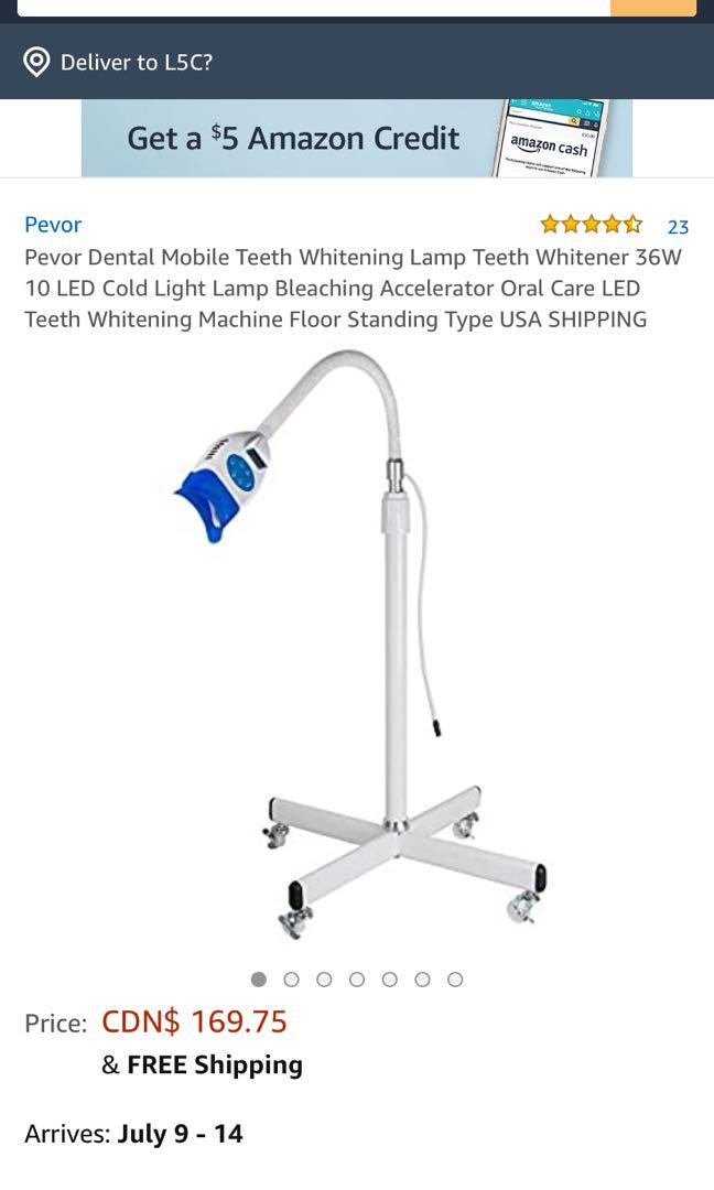 LED Teeth Whitening Machine
