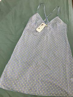 Miss Triumph polka dots mini dress sleepwear
