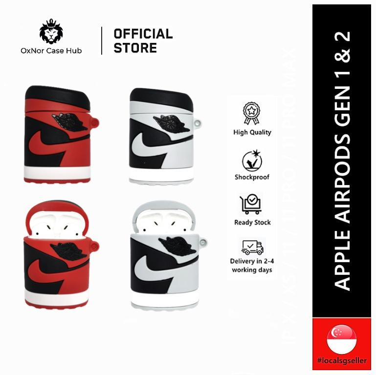 Nike Air Jordan 1 Airpods Case Mobile Phones Tablets Mobile
