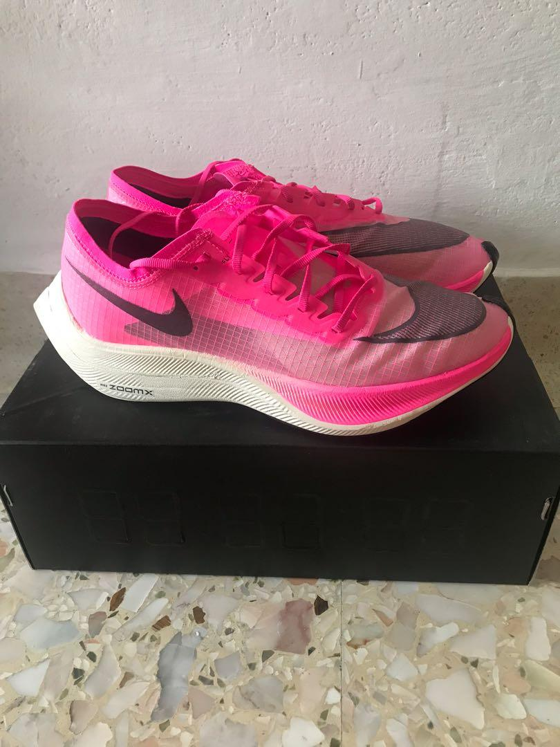 Nike ZoomX Vaporfly Next% Pink 9.5US