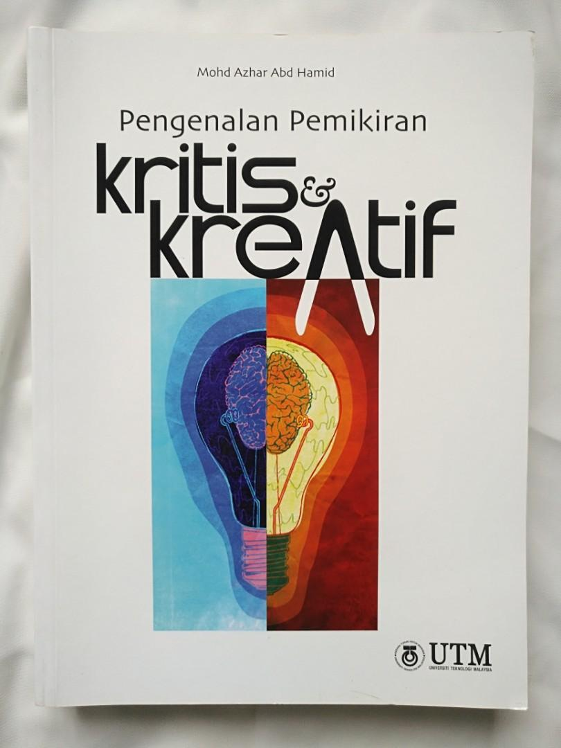 Pengenalan Pemikiran Kritis Kreatif Books Stationery Books On Carousell