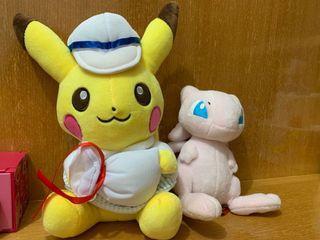 Pokemon公仔。寵物小精靈公仔。比卡超