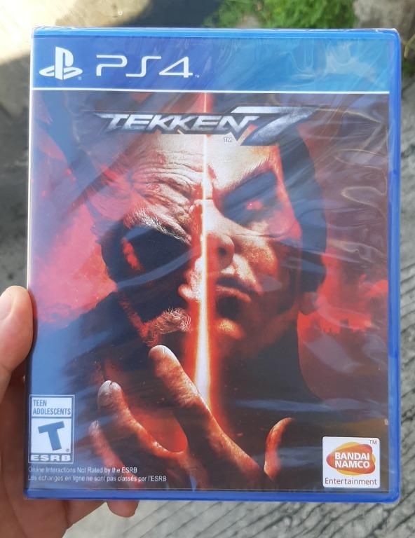 Ps4 Tekken 7 Brandnew Sealed Xbox Nintendo Switch Ps Vita On Carousell